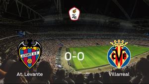 El At. Levante y el Villarreal B no encuentran el gol y se reparten los puntos (0-0)