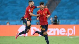 España vs Polonia - El gol de Morata ante Polonia