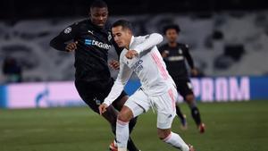 Lucas Vázquez tuvo una buena actuación en la Champions con el Madrid