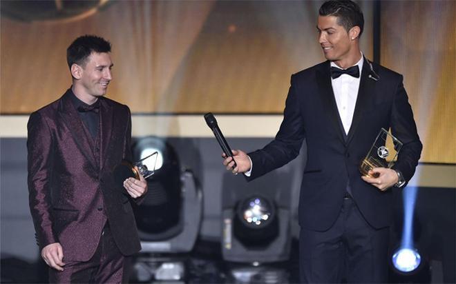Messi dice que la rivalidad con Cristiano Ronaldo es un invento de la prensa