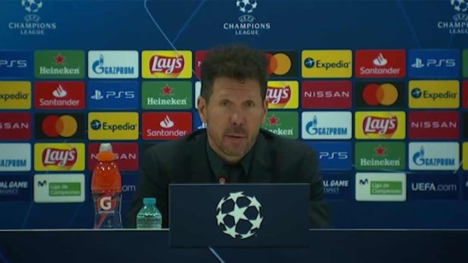 Simeone: El equipo me genera mucha optimismo