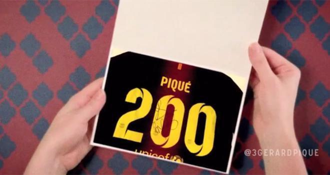 Los mejores momentos de Piqué en 2012
