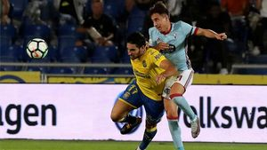 LALIGA   Las Palmas - Celta (2-5)