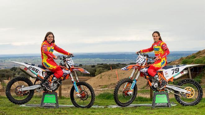 Gabriela Seisdedos y Daniela Guillén, a por todas en el Mundial