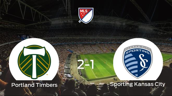 El Portland Timbers gana al Sporting Kansas City por 2-1