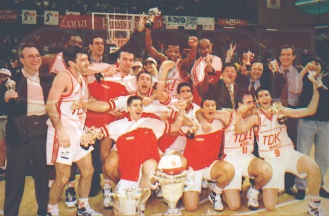 Temp 1995-1996 (Murcia): Final TDK Manresa ¿ FC Barcelona