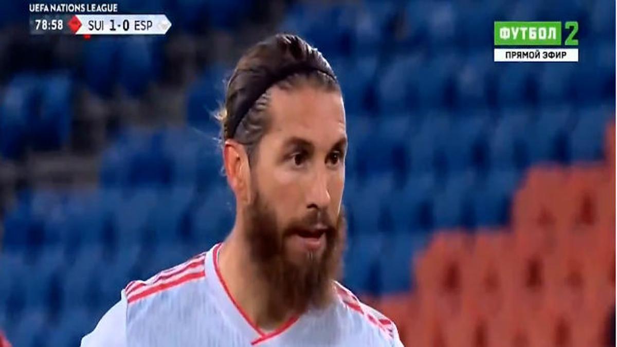 El show de Ramos con España: Dos penaltis fallados, cara de póker y la Selección se la jugará ante Alemania