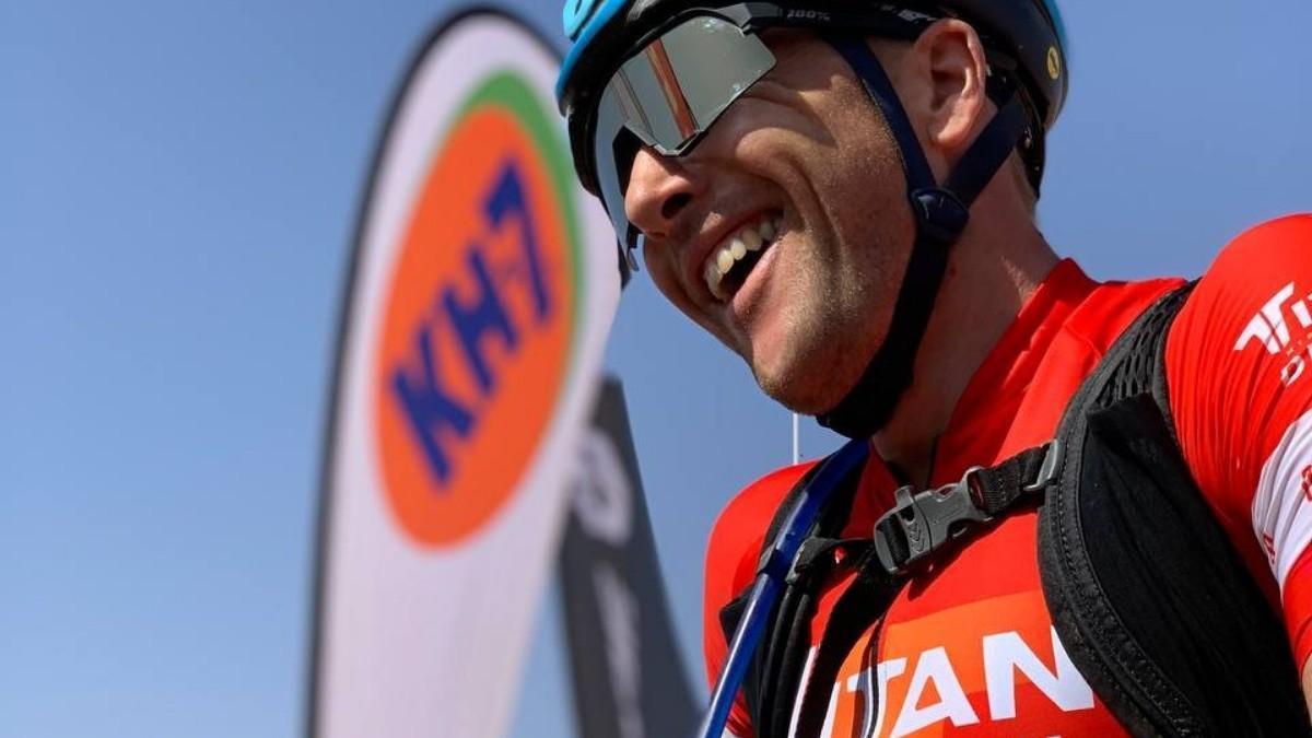 Konny Looser, ganador de la etapa