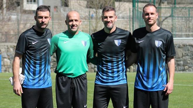 El Inter de Escaldes cuenta con cuatro veteranos con la misma ilusión de un juvenil
