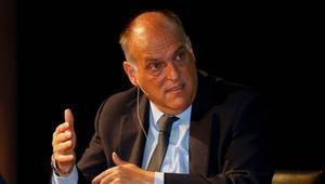 Javier Tebas, entre los denunciados