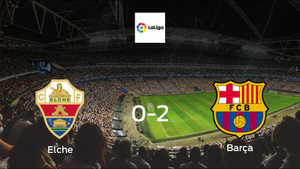 Elche succumb to Barcelona with 2-0 defeat at Estadio Martínez Valero