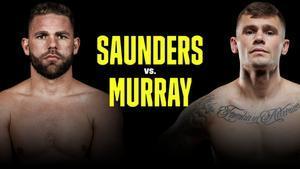 Saunders se enfrentará a Murray por el campeonato mundial de peso supermediano