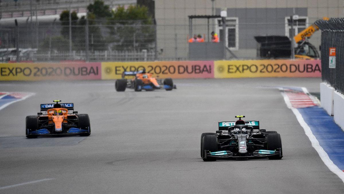 Horario y televisión de la carrera del GP de Rusia de F1