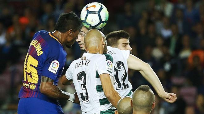 LALIGA | Barça-Eibar (6-1): El gol de Paulinho que puso el 2-0