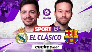 Sigue en streaming el clásico Real Madrid - Barça