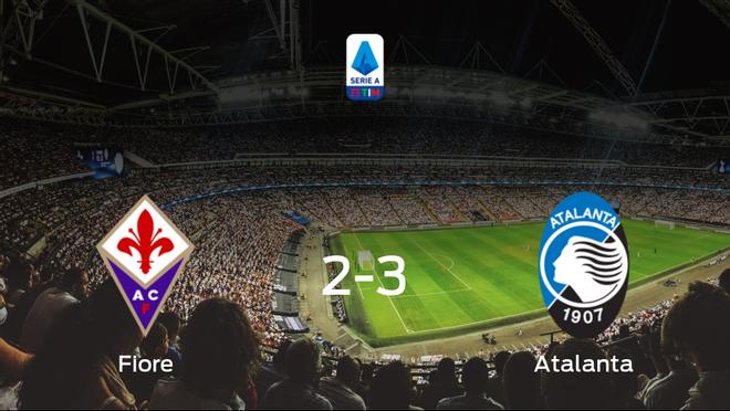 El Atalanta vence 2-3 en el estadio de la Fiorentina
