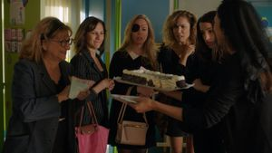 Escena de la segunda temporada de Señoras del (h)AMPA