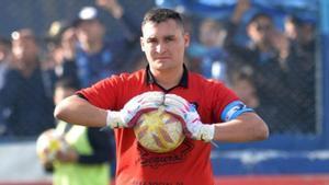 Pucheta, en un partido anterior con el Macará.