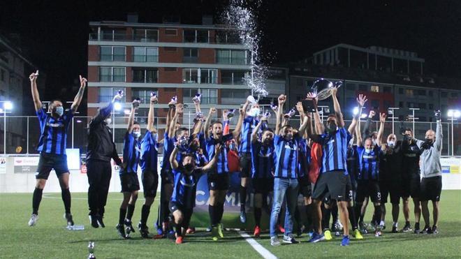 El Inter logró el doblete en Andorra
