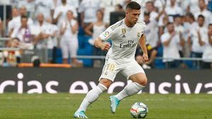 Jovic, en el once titular del Real Madrid