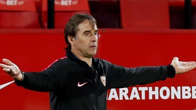 Lopetegui, sancionado para el duelo contra el Madrid en Valdebebas