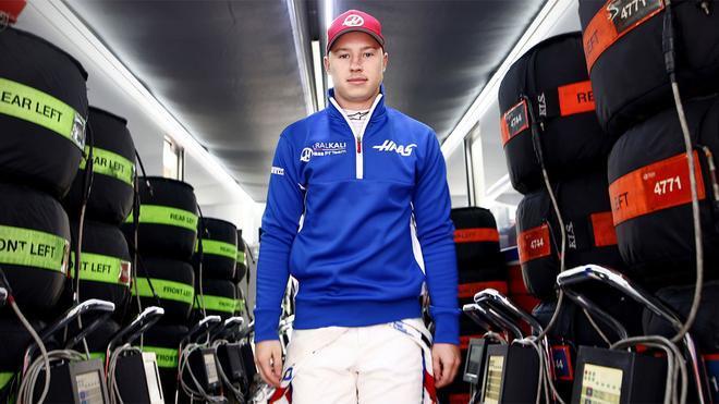 Nikita Mazepin, piloto debutante de Haas en la Fórmula 1