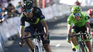 Alejandro Valverde, en la pasada Vuelta al País Vasco