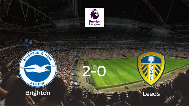 El Brighton and Hove Albion logra los tres puntos frente al Leeds United (2-0)
