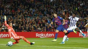 Masip encajó cinco goles en su última visita al Camp Nou