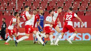 El Girona es de Play-Off tras vencer al Alcorcón por la mínima