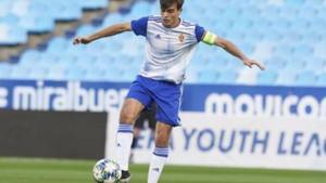 Francho Serrano, jugador del Real Zaragoza