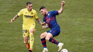 Huesca y Villarreal empataron a nada