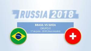 Cara a cara: Brasil vs Suiza