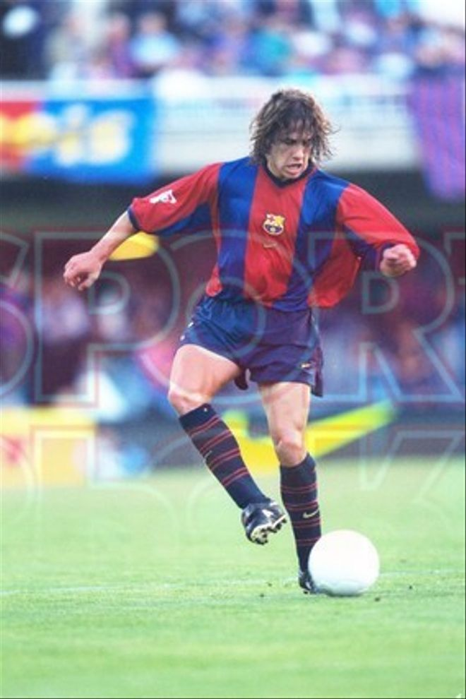 10.Carles Puyol 1998-99