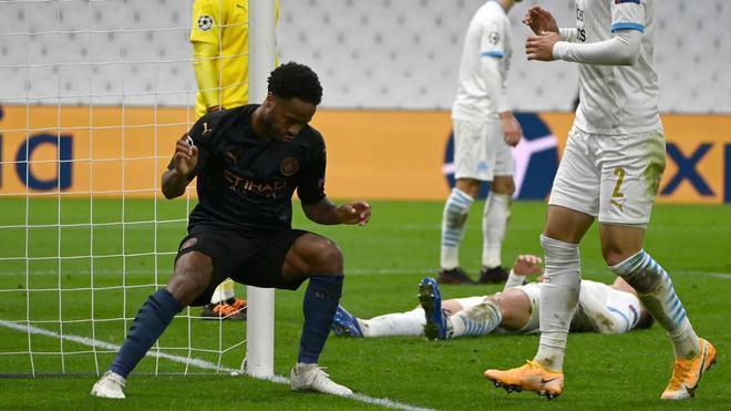 Sterling sentenció al Olympique de Marsella con el tercer tanto