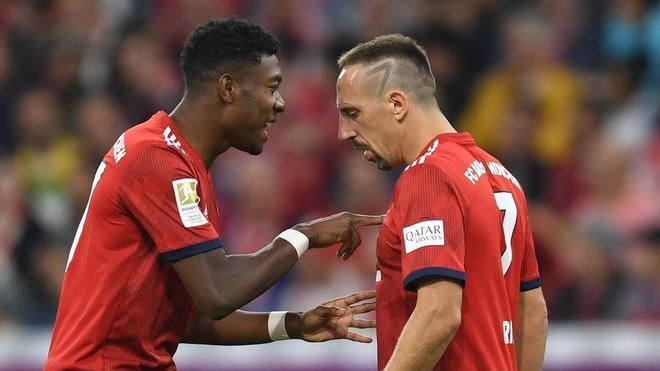 Ribery invita a Alaba y Bayern a solucionar sus diferencias para que el austríaco se quede en Múnich