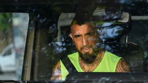 Así ha sido la llegada de Arturo Vidal a Milán