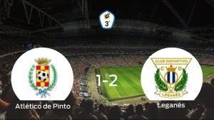 El Leganés B se impone al Atlético de Pinto y consigue los tres puntos (1-2)