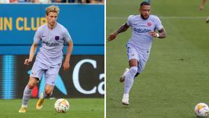 Frenkie de Jong y Memphis Depay, dos neerlandeses llamados a marcar la diferencia en el FC Barcelona 2021-22