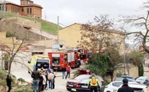 La prensa local ha publicado fotos del lugar del incendio