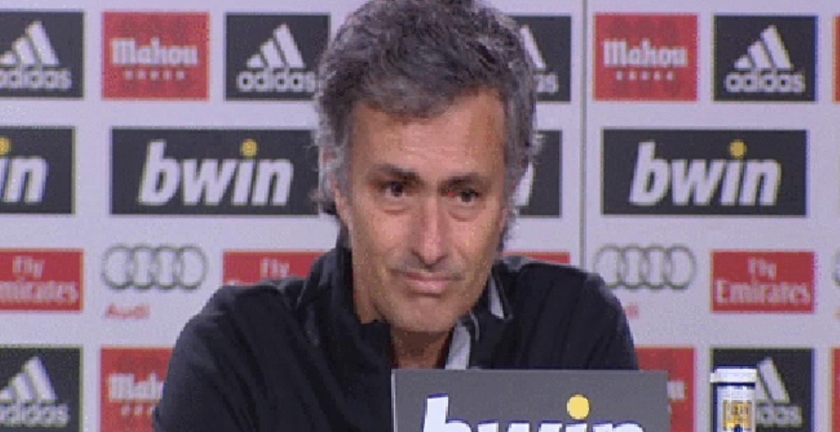 Mourinho culpa de la derrota a la mala suerte