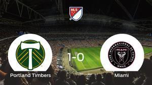 Victoria del Portland Timbers por la mínima frente al Inter de Miami (1-0)