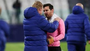 Koeman responde a Setién por sus polémicas declaraciones sobre Messi