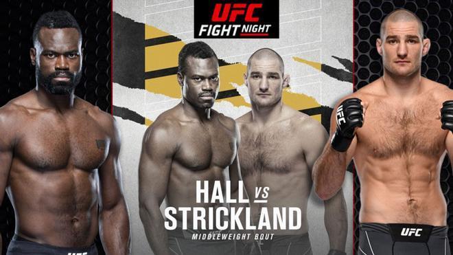 El Hall vs Strickland se celebrará en la madrugada del sábado