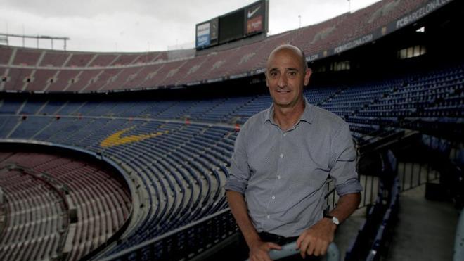 Jordi Moix, vicepresidente tercero del FC Barcelona y responsable del Espai Barça