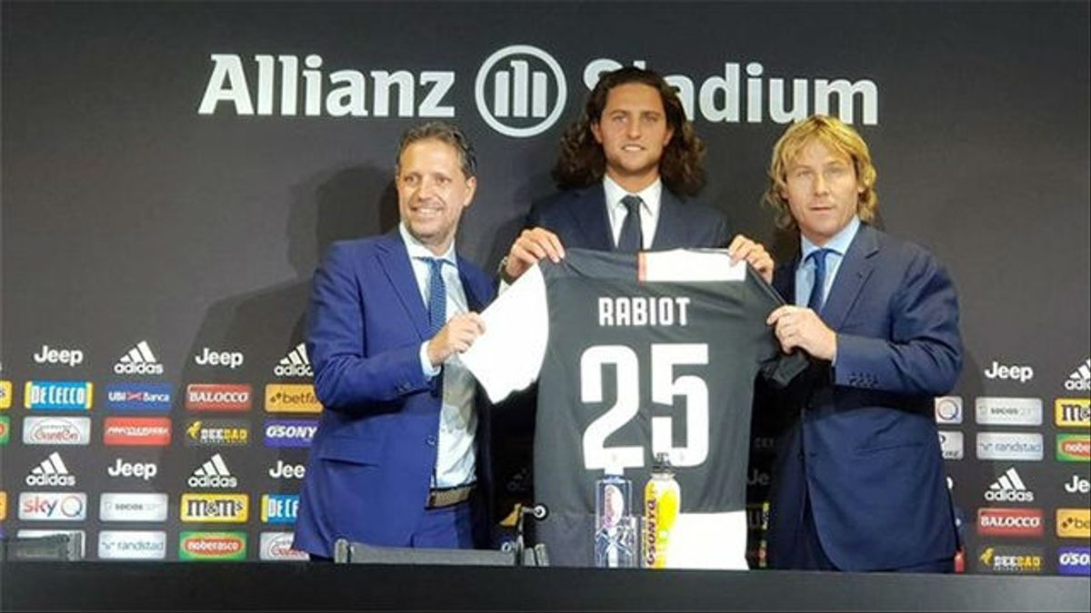 La Juventus presenta a Rabiot