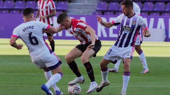 El Valladolid aún no ha ganado en liga