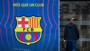 Registro en las oficinas del FC Barcelona