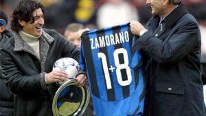 Zamorano jugó en el Inter de 1996 a 2001
