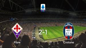La Fiorentina se queda con la victoria ante el Crotone (2-1)